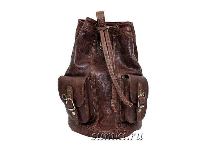 Кожаный рюкзак Sacvoyage арт.23128